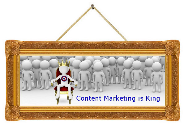 Content marketing is king!